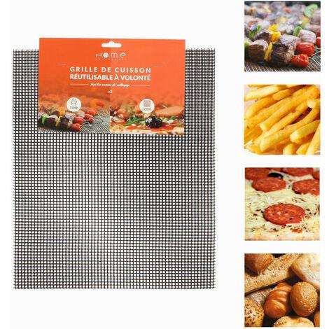 """main image of """"Lot de 2 grilles de cuisson spéciale Barbecue et Four 80162 pour Barbecue"""""""