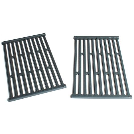 Lot de 2 grilles pour barbecue gaz Weber Spirit 210