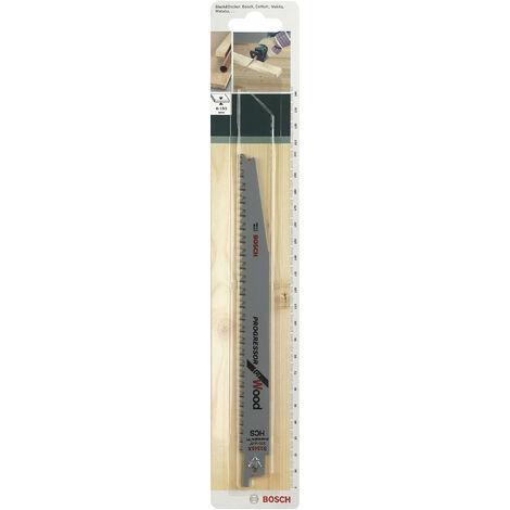 Lot de 2 lames coupe multimatériau BOSCH S2345x pour scie sabre ou égoïne