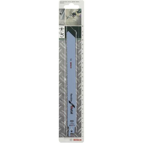 Lot de 2 lames coupe multiusage BOSCH S1122bf pour tôle épaisse