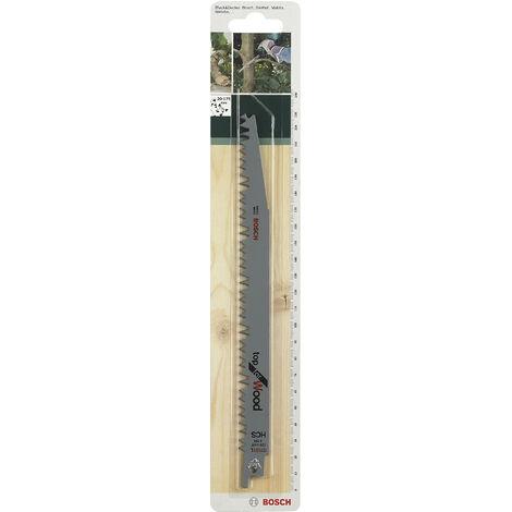 Lot de 2 lames coupe rapide et grossière BOSCH S1131l pour scie sabre ou égoïne