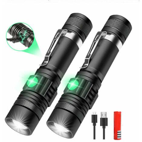 Lampe Torche de poche wurth étanche Flashlight power à LED 6 modes