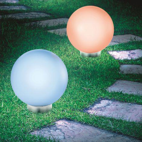 Lot de 2 lampes boules 30 CM LED color