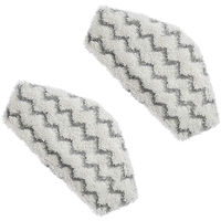 Lot de 2 lingettes microfibres pour le Steam & Clean