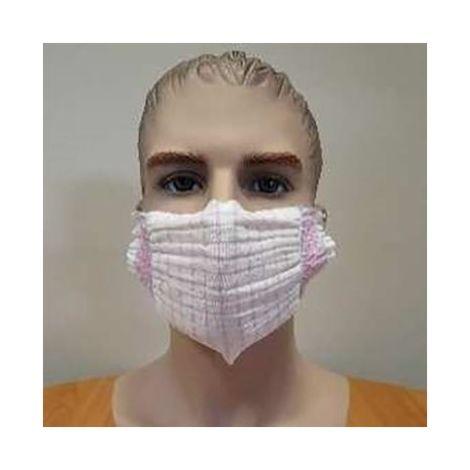 Lot de 2 masques lavables en tissus UNS1 et UNS2