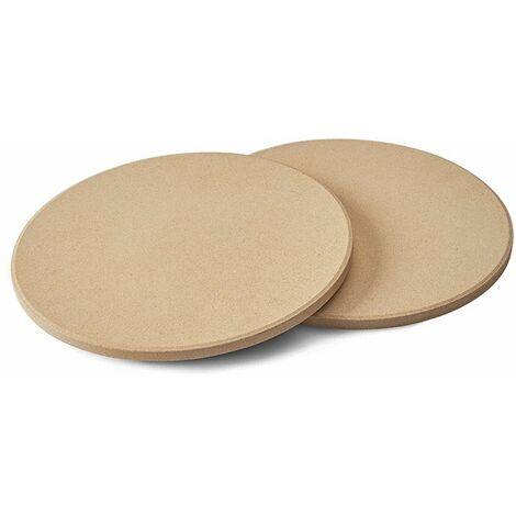 Lot de 2 pierres à pizza Ø 24,5cm Napoleon pour barbecue