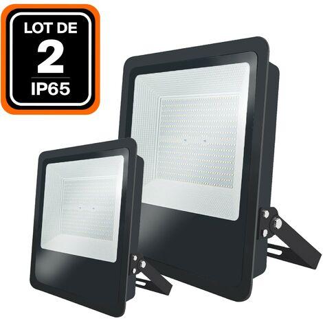 Lot de 2 Projecteurs LED Industriel MOON 300W