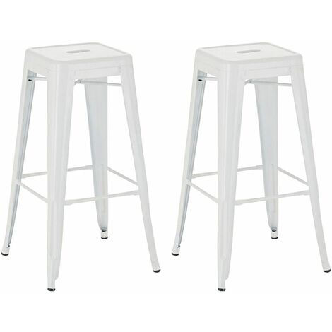 Lot de 2 tabourets de bar Joshua