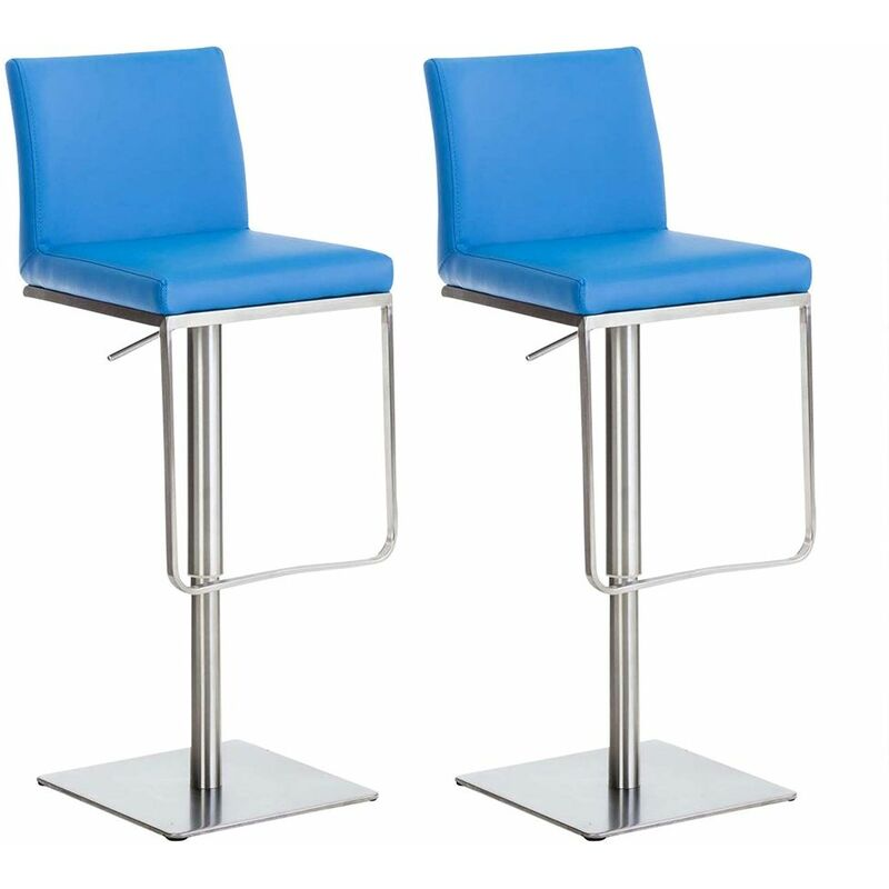 Lot de 2 tabourets de bar Panama similicuir