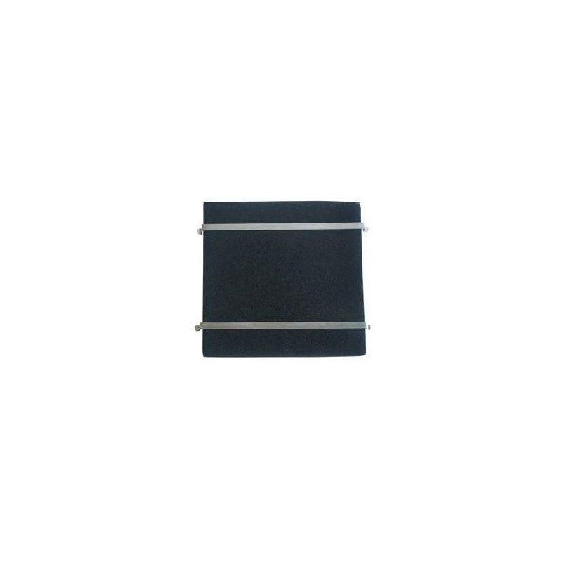 Lot de 2 tiges pour placer un filtre universel sur un filtre de hotte taille moyenne 30 jusqu'à 35cm. de coté (Tiges 320 mm.)