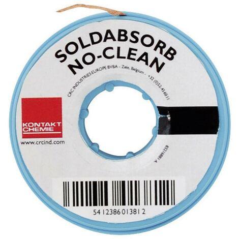 Lot de 2 tresses à dessouder SOLDABSORB NO CLEAN S66138