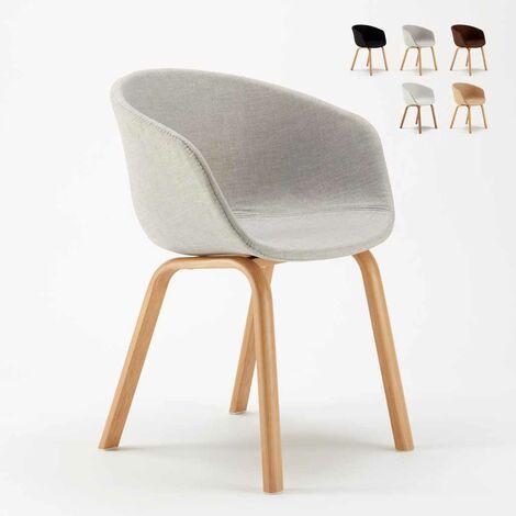 Lot De 20 Chaises En Metal Bois Tissu Pour Restaurant Bars Design Scandinave KOMODA