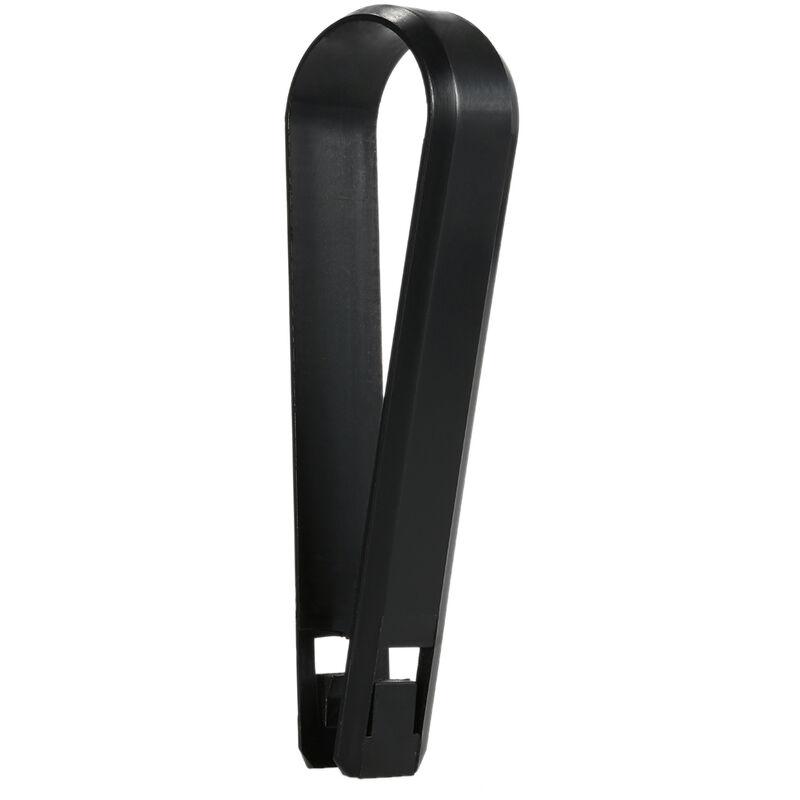 Couvercle En Plastique 20 Pieces Pour Couvercle De Boulon D'Ecrou De Roue, Diametre Interieur 17 Mm * Hauteur 30 Mm, Noir, Adapte Pour Vauxhall