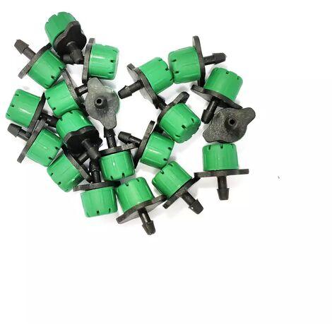 Lot de 20 goutteurs couleur vert