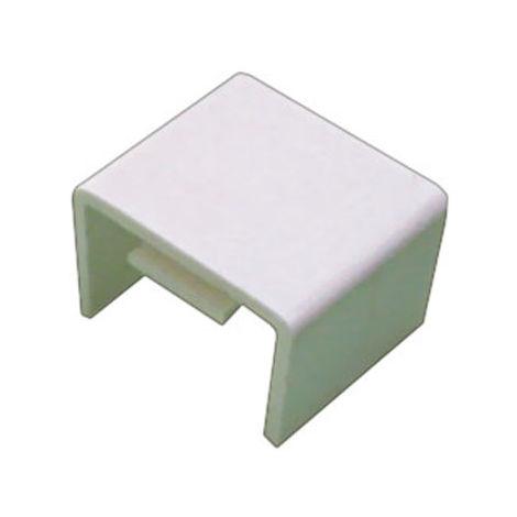 Lot de 20 pièces Accessoires de montage pour mini-moulures 12 x 8 mm couleur ivoire Electro Dh 48.010/U/M 8430552111930