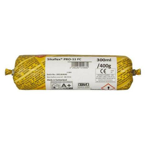 "main image of ""Lot de 20 poches recharge mastic colle SIKA Sikaflex PRO 11 FC - Marron - 300ml - Marron"""
