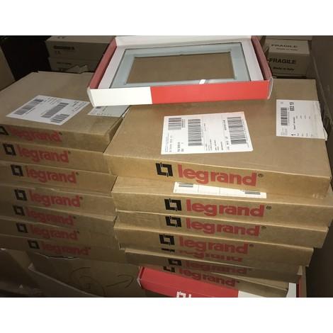 Lot de 28 plaques en verre Kaolin pour ecran plat tactile 10'' BUS/SCS my home Celiane LEGRAND 069319