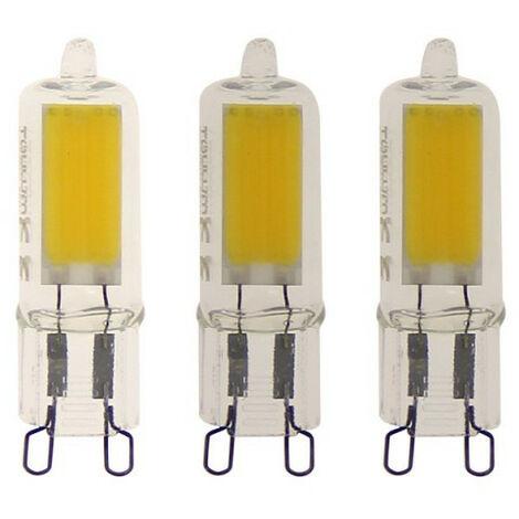 Lot de 3 ampoule capsule LED - culot G9 - 200 lumens - blanc chaud - | Xanlite