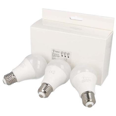 """main image of """"Lot de 3 ampoules Led culot E27 9W"""""""