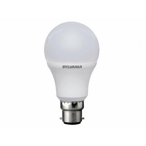 Lot de 3 ampoules Led STD B22 827 9W=60W DEP RAD SYLVANIA