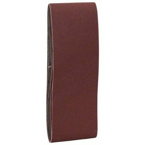 Lot de 3 Bandes abrasives Best for Wood 75x457mm Gr 60 BOSCH 2608606033