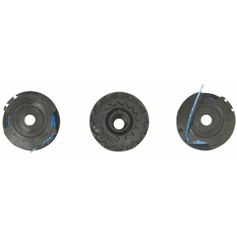 Lot de 3 bobines simple fil RYOBI diamètre 1.6mm x 4.5m RAC125