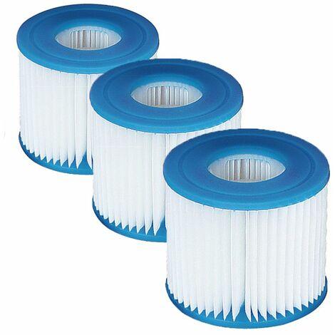 Lot de 3 filtres pour pompe 2,2 et 3m3 jilong