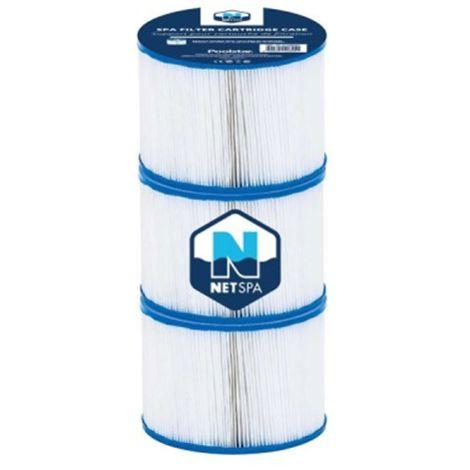 Lot de 3 filtres pour spa NETSPA