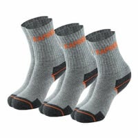 Lot de 3 paires de chaussettes WORK grises KAPRIOL- plusieurs modèles disponibles