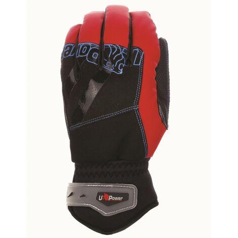 Lot de 3 paires de gants de travail techniques anti-froid - YETI Red Magma - GP104RM - U-Power