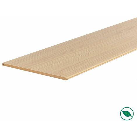 Lot de 3 planches palier rénovation d'escalier stratifié florida 2050 x 225 x 8 mm