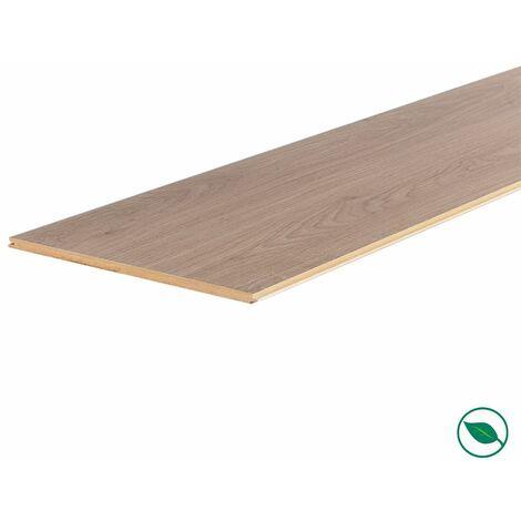 Lot de 3 planches palier rénovation d'escalier stratifié louisiana 2050 x 225 x 8 mm