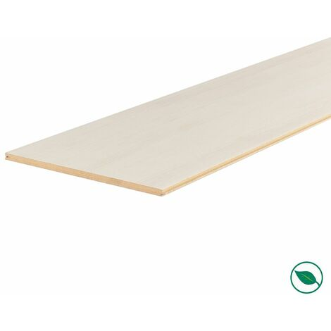 Lot de 3 planches palier rénovation d'escalier stratifié nébraska 2050 x 225 x 8 mm