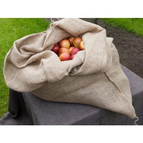 Lot de 3 sacs de jardin en toile de jute 115L