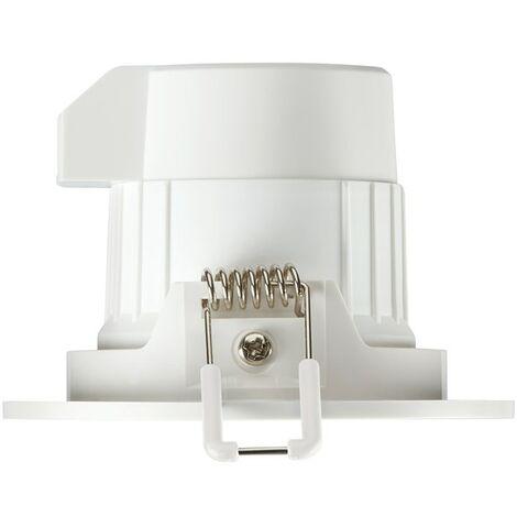 LOT DE 3 SPOTS ENCASTRES FIXE LED BLANC BRILLANT 4000K IP65 6,5W - BLANC - SYLVANIA - Blanc