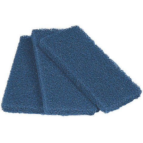 Lot de 3 tampons abrasifs bleus - Mob/Mondelin