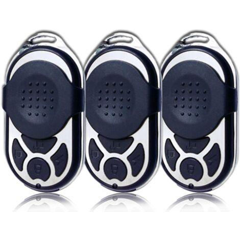 """main image of """"Lot de 3 télécommandes luxe - IP-LOT3-PB-433R Iprotect Evolution - Gris"""""""
