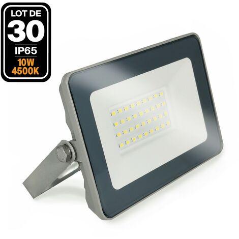 Lot de 30 Projecteurs LED 10W Classic 2700K Haute Luminosité