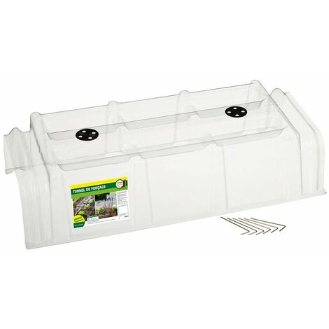 Lot de 30 tunnels de forçage rigides transparents de 86cm