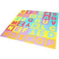 Lot de 36 Pièce de Tapis Puzzle Mousse 32*32 CM Jeu Educatif