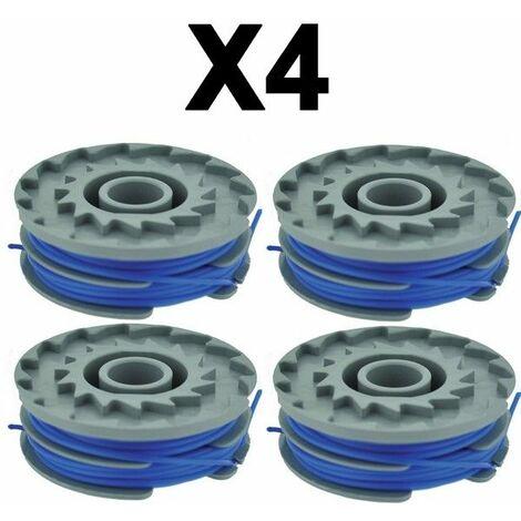 Lot de 4 bobine de fil coupe bordures Ryobi / Flymo 1.6 mm