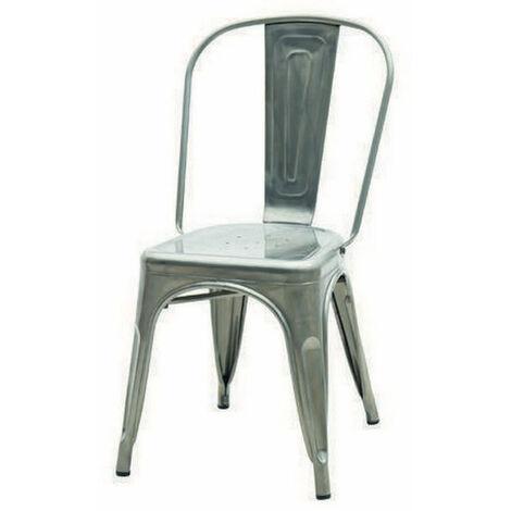 Lot de 4 chaises mod. Tolix vieillies