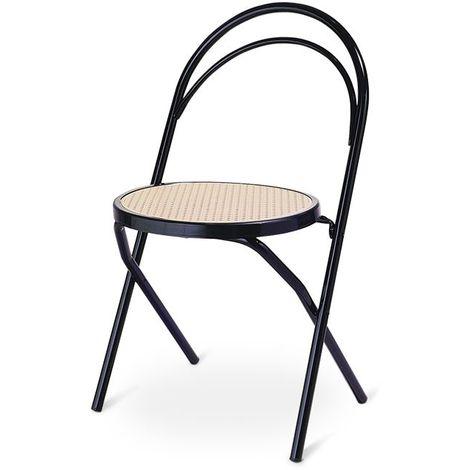 Pour En Pliant 4 De Hotel Lot Chaises 42x48x4688 Restaurant Cafè Metal 45q3AcjLSR