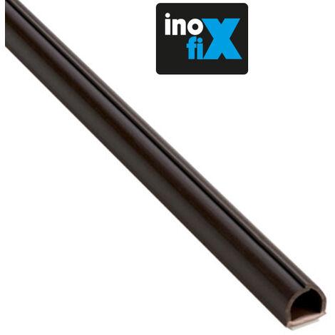Lot de 4 gaines adhésives Cablefix 5,5 x 5 mm marron - Inofix