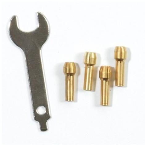 Lot de 4 mandrins + 1 clé de serrage pour PROMKIT300 - PROMADA - Ribitech