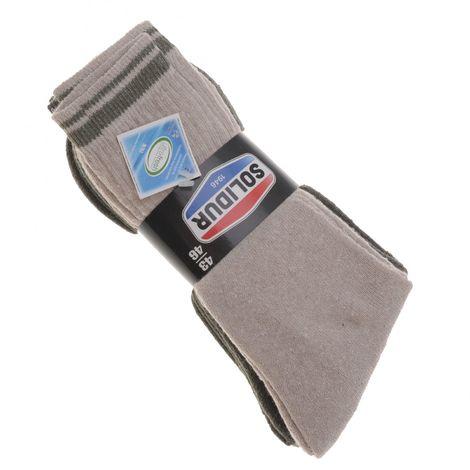 Lot de 4 Paires de chaussettes Anti-bactériennes Solidur Trek