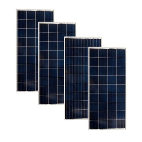 Lot de 4 Panneaux Photovoltaïques VICTRON 55Wc 12V Monocristallins