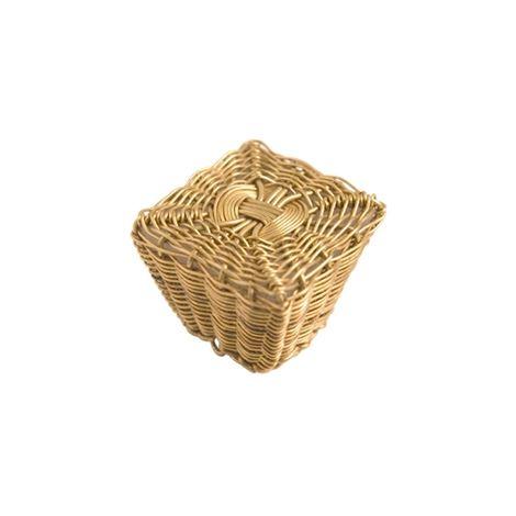 Bouton de porte et tiroir de meuble en Laiton doré de 25mm, FIL