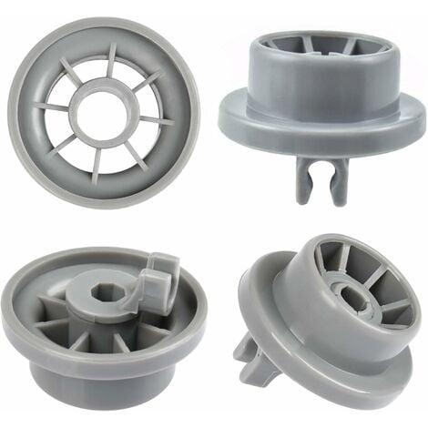 """main image of """"Lot de 4 Roulettes de Lave-vaisselle pour Panier Inférieur, Roues de Lave-vaisselle pour Siemens, Bosch 165314"""""""