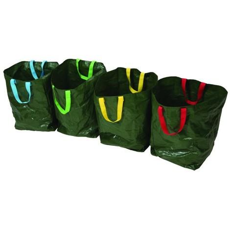 Lot de 4 sacs de tri sélectif 400 x 320 x 320 mm
